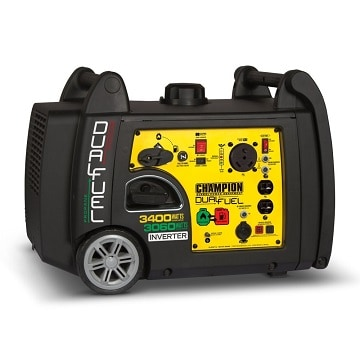Champion 3400-watt electric start generator