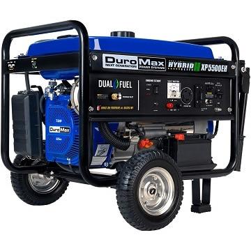 Duromax XP5500EH 5500-watt electric start generator
