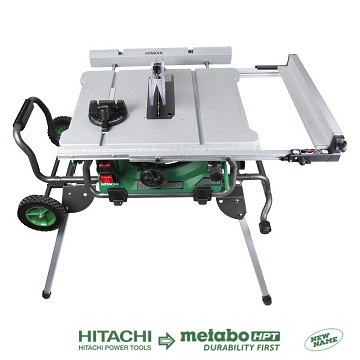 METABO HPT HITACHI CIORJ 10- INCHES 15 AMP JOBSITE TABLE SAW